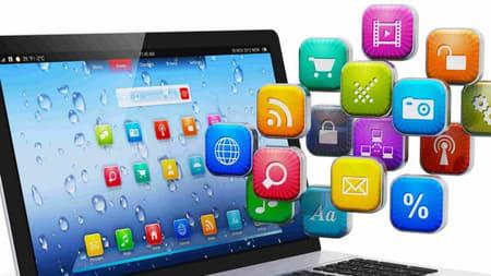 Programas, Aplicaciones, Sistemas Operativos, app